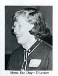 Mona Van Duyn Thurston