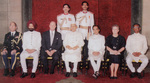 1994 credentials ceremony, New Delhi, India