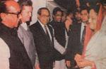 1996 meeting prime minister of Bangladesh,_Sheikh Hasina