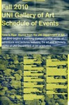 Fall 2010 Schedule of Events