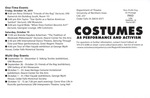 Fall 2011 Costumes as Performance and Activism [Back]