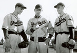 1949 Coach Whitford with Demitroff and Dahlke