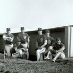 1983 group in dugout by Bill Witt by Bill Witt