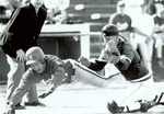 1993 Grady Murphy, catcher in action