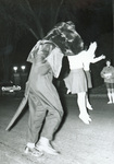 1960s panther and cheerleaders