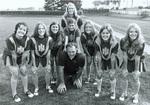 1974 Stan Sheriff and cheerleaders