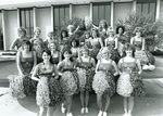 1982 cheerleading sqaud photo by Bill Witt by Bill Witt