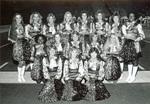 1982 pompom squad by Bill Witt by Bill Witt