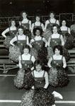 1983 cheerleading squad photo