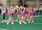 1994 drill team with marching band