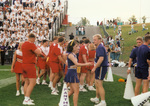 1996 Cyclone and Panther cheerleaders