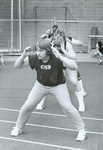 1977 Jeff Johnson doing conditioning exercises