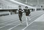 1977 Jim Sond and Jeff Hamilton working on conditioning