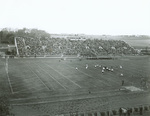Over-flow crowd at stadium