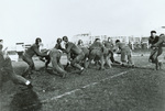 1929 practice before Grinnell game