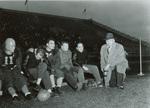 1946 sidelines at N.D.S. game