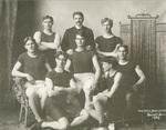 1903 team photo with Coach George Affleck