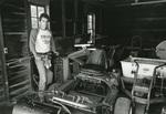 1983 maintenance shed by Bill Witt by Bill Witt