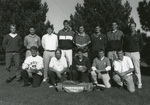 1992-93 men's golf with Coach Ken Green