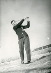 College golfer (date unknown)