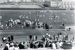1945 field shot of T.C. relays