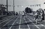 1971 Dickinson relays finish line