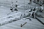 1971 Dickinson relays hurdles