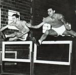 Jumping hurdles indoors