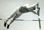 Pole vault closeup