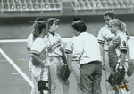 1993 Coach Meredith Bakley at the mound