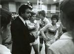 1982 Coach Ahrabi-Fard during game by Bill Witt by Bill Witt