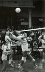 1982 fans in the stands by Bill Witt by Bill Witt