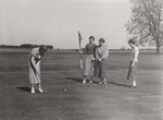Ladies foursome putting