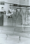 1982 diving in the East Gym