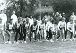 1993 cross country runners and spectators