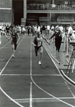 1993 Dyan Fluhrer running indoor meet