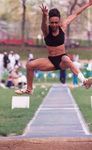 Long jump in color