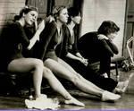 1979 watching and waiting by Dan Gevas by Dan Grevas