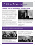 Political Science Department Newsletter, v8n1, June 2013