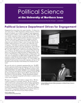 Political Science Department Newsletter, v10n1, June 2015 by University of Northern Iowa. Department of Political Science.