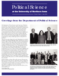 Political Science Department Newsletter, v9n1, June 2014 by University of Northern Iowa. Department of Political Science.