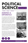 Political Science Department Newsletter, v10n1, June 2016 by University of Northern Iowa. Department of Political Science.