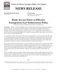 CHIRLA press release