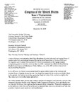 Letter to Dept. of Justice and Dept. of Homeland Security