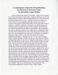 Story of Our Lives English translation of commentary by Juventino Lopez Pichia