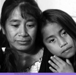 flier image; Rosa Zamora and daughters