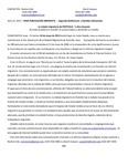 Press release 1 Spanish