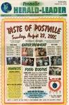 Postville Herald Leader, August 24, 2005
