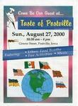 Taste of Postville Newspaper, August 27, 2000