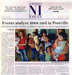 Events Analyze 2008 Raid in Postville [Northern Iowan article] by Rachel Zidon